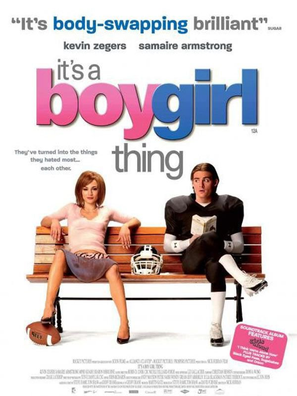 it's a boy girl thing.