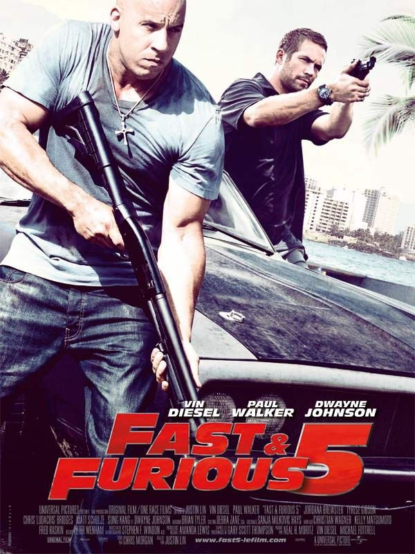 Fast and Furious 5.