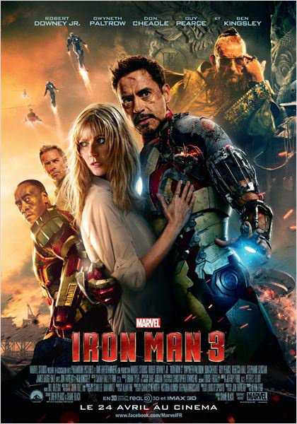Iron Man trilogie.