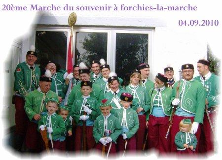 Marche du Souvenir à Forchie-la-Marche du 04.09.2010.