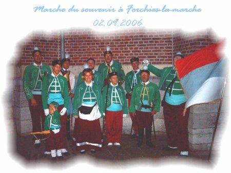 Marche du souvenir à Forchie-la-marche du 02.09.2006.