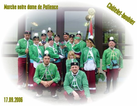 Marche notre dame de patience à Châtelet le 17.09.2006.