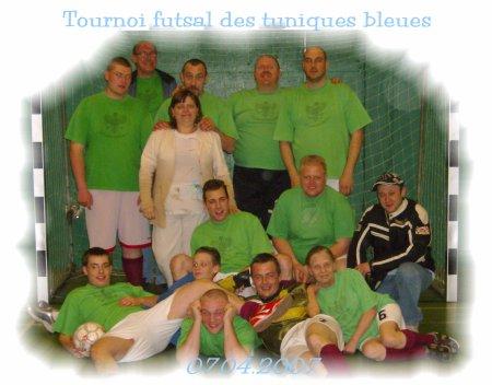 Tournoi futsal des tuniques bleues du 07.04.2007.