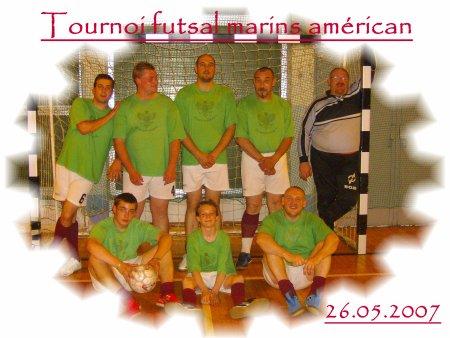 Tournoi futsal des marins américain du 26.05.2007.