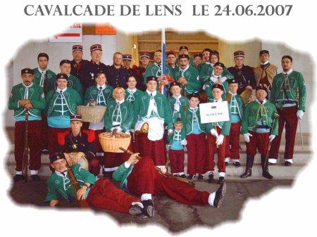 Cavalcade de Lens du 24.06.2007.