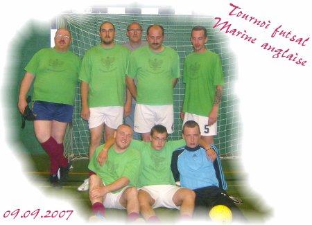 Tournoi futsal marine anglaise le 09.09.2007.