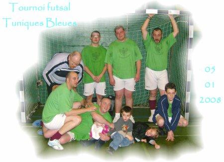 Turnois futsal Tuniques bleues du 05.01.2008.