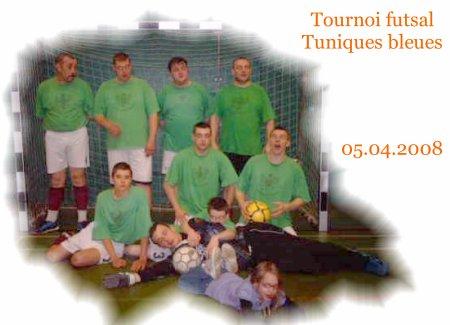 Turnois futsal Tuniques bleues du 05.04.2008.