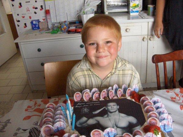 anniversaire de mon fils kenzo 6 ans
