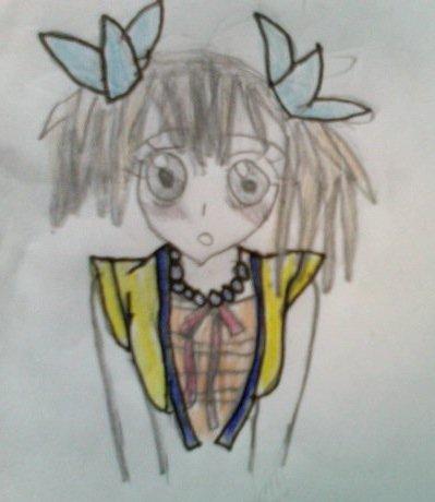 Fic avec dessin de moi et manga-voca