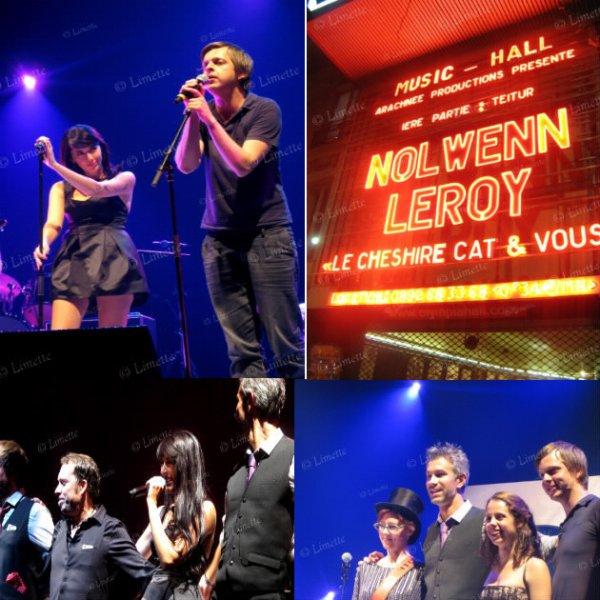 Nolwenn Leroy à l'Olympia le 04/10/10