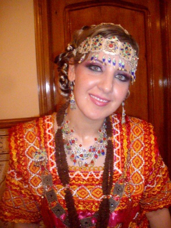 fille amazighe