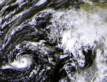 16 10 2005 cyclone en europe le premier de toute l'histoire météo !