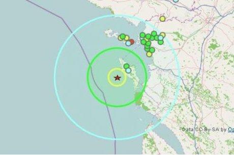Nouveau séisme dans mon département la charente maritme (17) 05 02 2011
