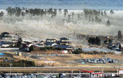Photos de la catastrophe aux japon mars 2011