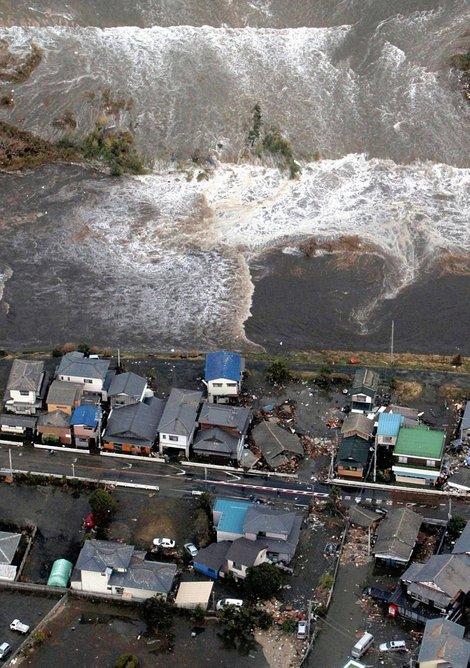 Photos de la catastrophe aux japon mars 2011
