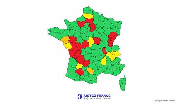 Les restriction d'eau continues de grignotaient le pays 28 département touchée