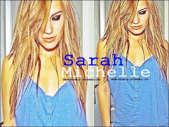 Bienvenue sur Sarah-miichelle-jtm ta source pour suivre toute l'actualité de la belle Sarah Michelle.