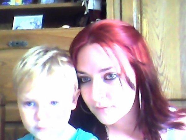 moi et mon fils Lyam