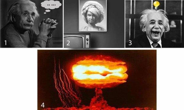 Albert Einstein a inspiré la bombe atomique