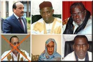 Votez utile, votez ethnique : un maure, un négro-mauritanien, deux hratines, et une mauresque