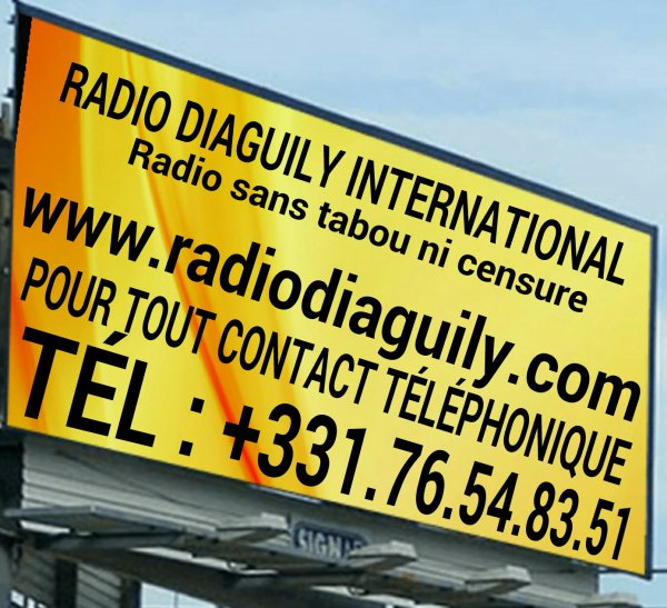 RADIO DIAGUILY INTERNATIONALE...