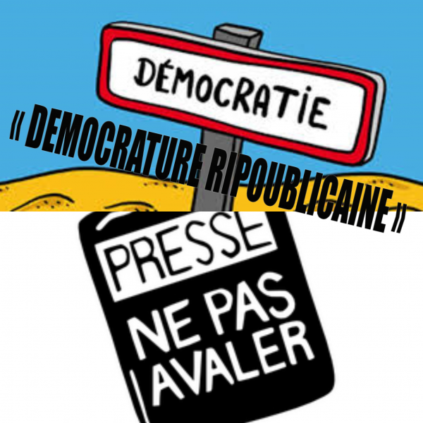« DEMOCRATURE RIPOUBLICAINE » !...