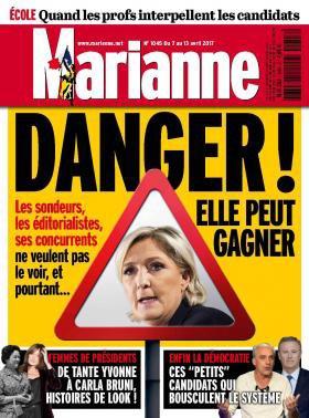 LE FRONT NATIONAL EST UN DANGER POUR LA DÉMOCRATIE.