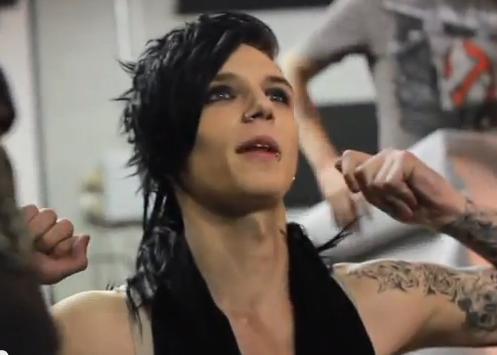 Andy Biersack You just ask me what you want