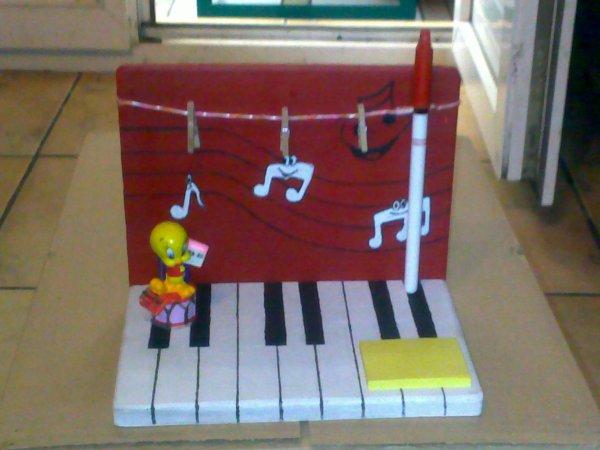 BLOC NOTE TITI PIANO