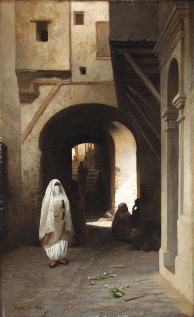 David - Femmes dans la casbah d'Alger