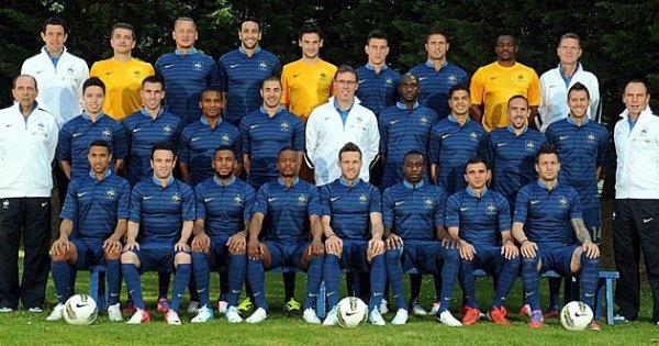l'équipe de france pour l'euro