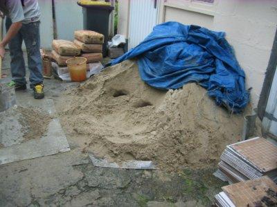 cf'est parti pour une journee chateau de sable
