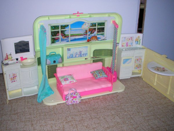 radio barbie barbie mattel 1994. Black Bedroom Furniture Sets. Home Design Ideas