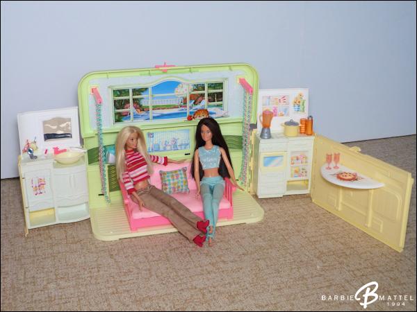 mes playsets barbie mattel 1994. Black Bedroom Furniture Sets. Home Design Ideas