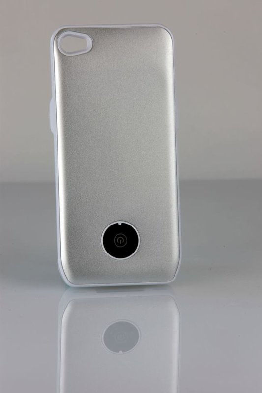 coque iphone 4gris mate avec batterie integree