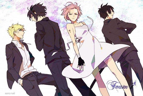 Saku, Sasu, Naru et Sai