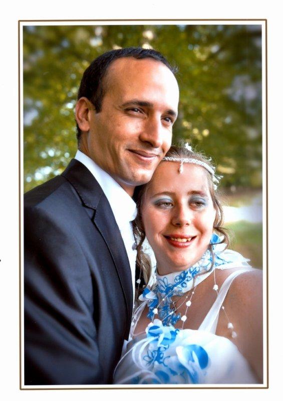 notre mariage le 18 aout 2012
