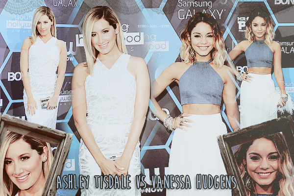 ♥Ashley Tisdale VS Vanessa Hudgens ♥Création : TeensWolfs