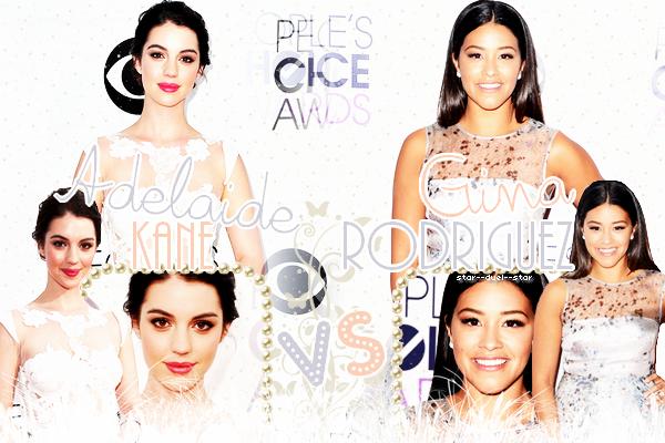 ♥Adelaide Kane VS Gina Rodriguez ♥Création : Star--Duel--Star