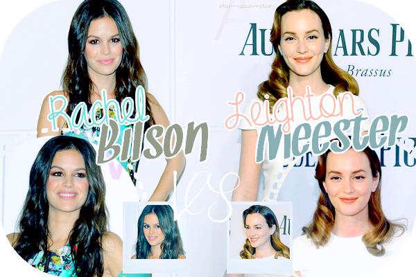 ♥Rachel Bilson VS Leighton Meester ♥Création : Star--Duel--Star