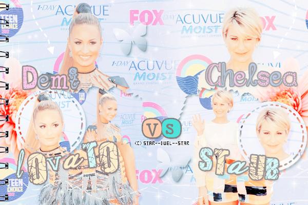♥Demi Lovato VS Chelsea Staub ♥Création : Sambe01