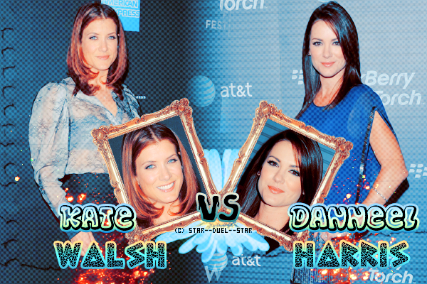 ♥Kate Walsh VS Danneel Harris ♥Création : TBBT-addict