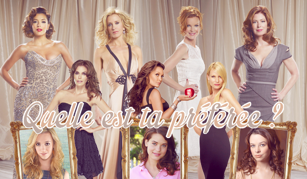 ♥VS Personnages Féminin Desperate Housewives ♥Création : Star--Duel--Star