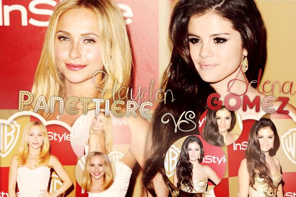 ♥Hayden Panettiere VS Selena Gomez ♥Création : NewGirlWorld