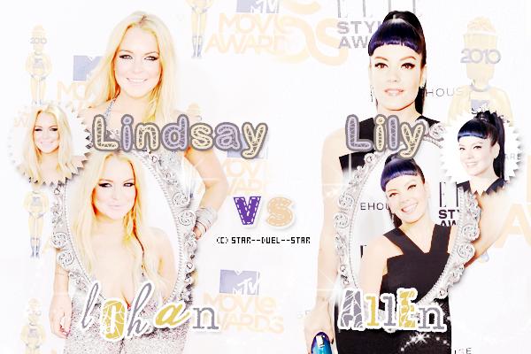 ♥Lindsay Lohan VS Lily Allen ♥Création : Sambe01