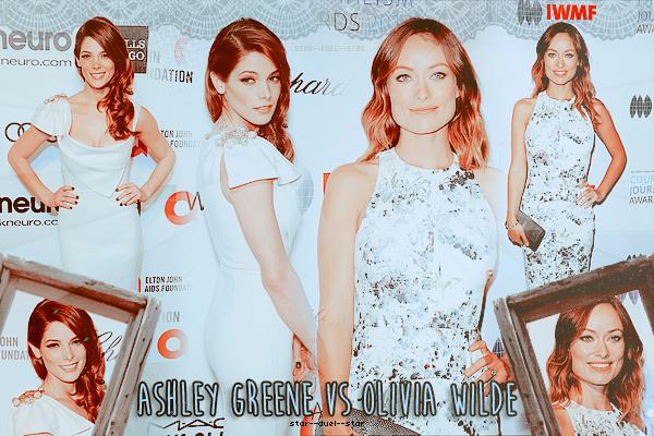 ♥Ashley Greene VS Olivia Wilde ♥Création : TeensWolfs