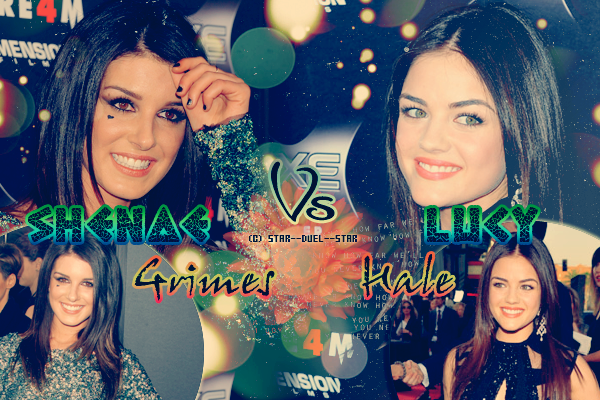 ♥Shenae Grimes VS Lucy Hale ♥Création : TBBT-addict