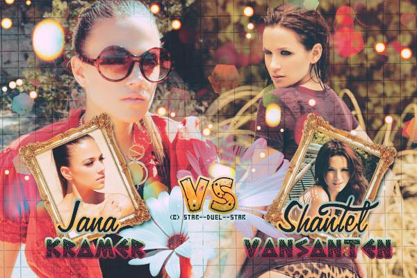 ♥Jana Kramer VS Shantel Vansanten ♥Création : TBBT-addict