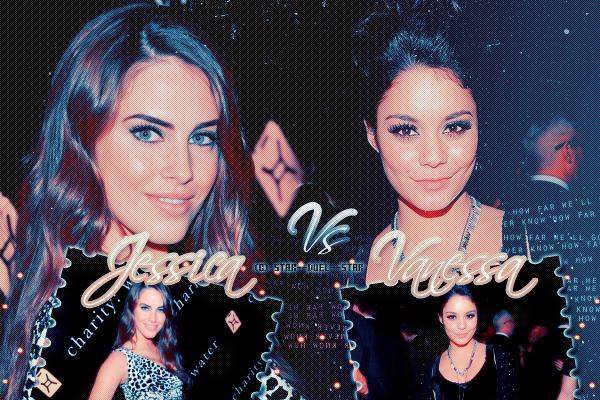 ♥Jessica Lowndes VS Vanessa Hudgens ♥Création : TBBT-addict